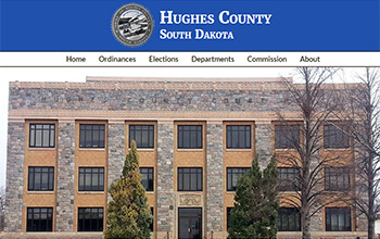 South Dakota Hughes County website