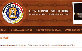 Lower Brule Sioux Tribe Environmental Protection Office website